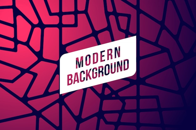Fondo abstracto moderno