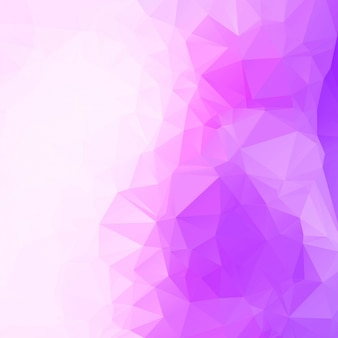 Fondo abstracto morado poligonal