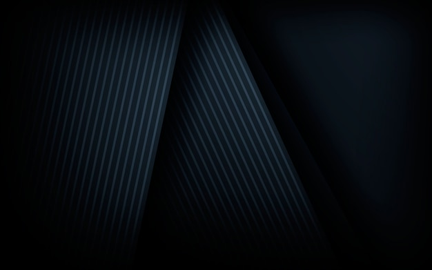 Fondo abstracto negro con línea gris