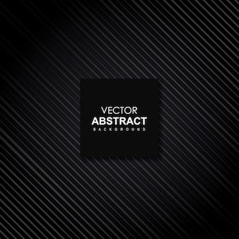 Fondo abstracto negro vector