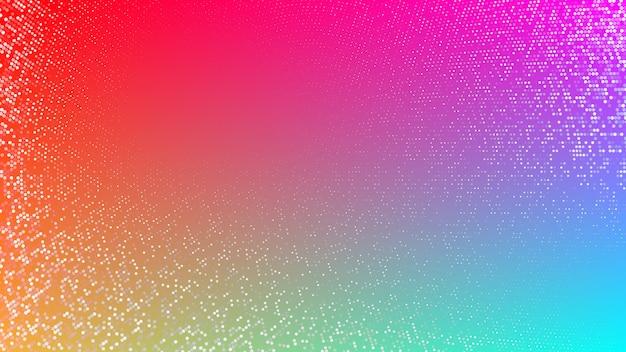 Fondo abstracto o patrón con elementos de semitono
