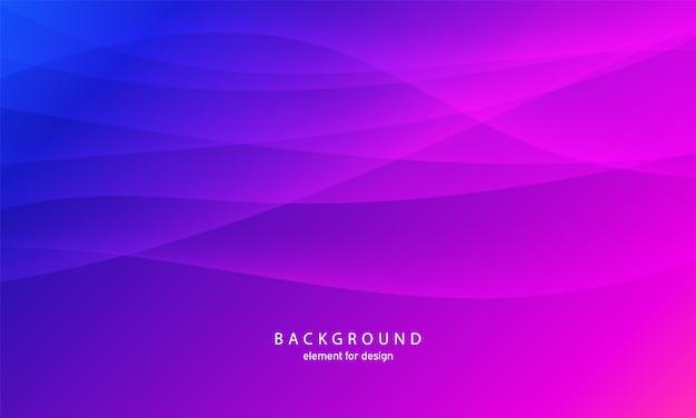 Fondo abstracto de la onda fondo colorido con línea ondulada.