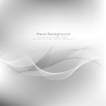 Fondo abstracto de la onda gris