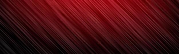 Fondo abstracto de onda. papel pintado de rayas. portada de banner en color rojo