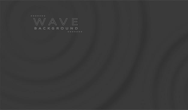 Fondo abstracto de ondas negras