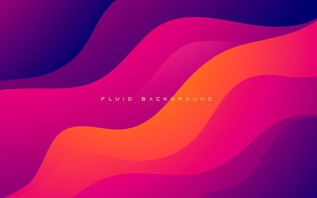 Fondo abstracto ondulado colorido de la forma del gradiente