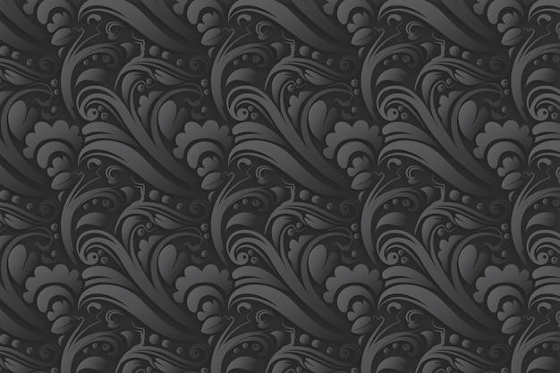 Fondo abstracto ornamental floral