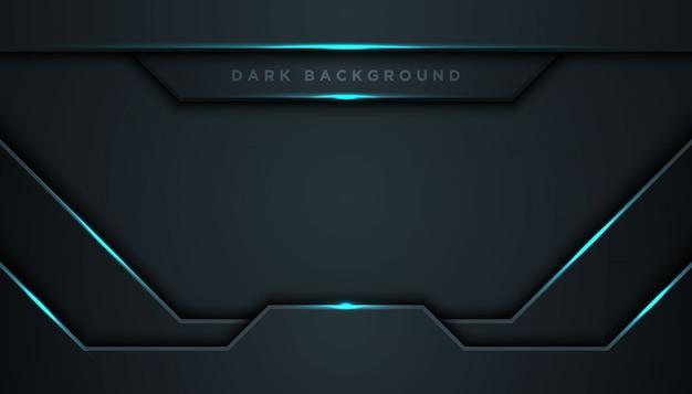 Fondo abstracto oscuro con capas superpuestas