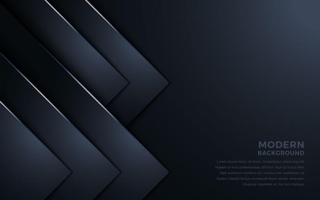 Fondo abstracto oscuro superposición de capas.