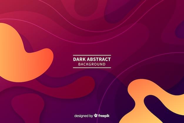 Fondo abstracto y oscuro