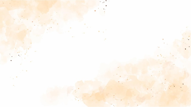Fondo abstracto de otoño de polvo marrón claro acuarela