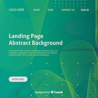 Fondo abstracto de página de inicio
