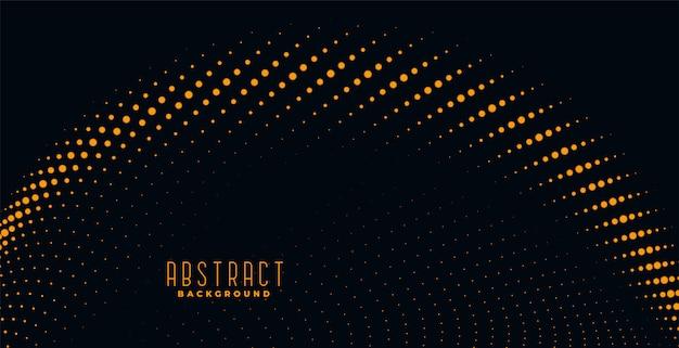 Fondo abstracto de partículas doradas