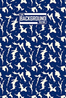 Fondo abstracto con patrón animal