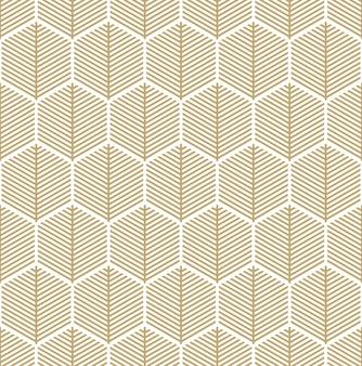 Fondo abstracto con un patrón hexagonal