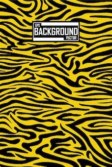 Fondo abstracto con patrón de tigre
