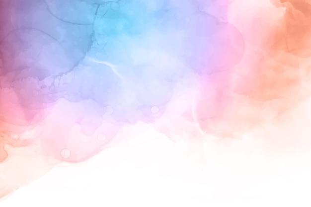Fondo abstracto pintado acuarela