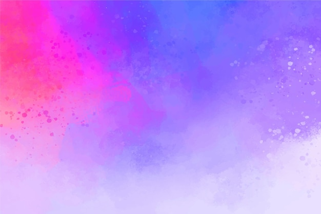 Fondo abstracto pintado a mano