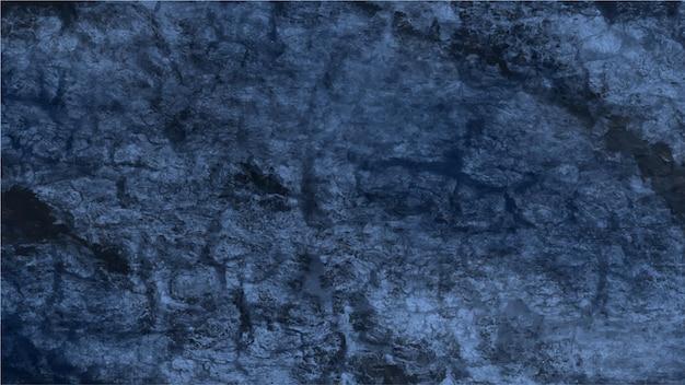 Fondo abstracto pintura azul oscuro