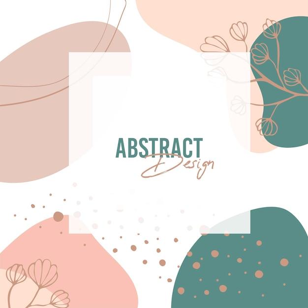 Fondo abstracto. plantilla de diseño moderno en estilo minimalista. cubierta elegante para presentación de belleza, diseño de marca. ilustración vectorial