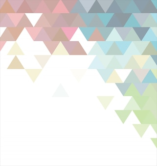 Fondo abstracto de la plantilla con el triángulo