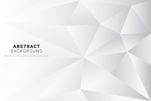 Fondo abstracto poli blanco