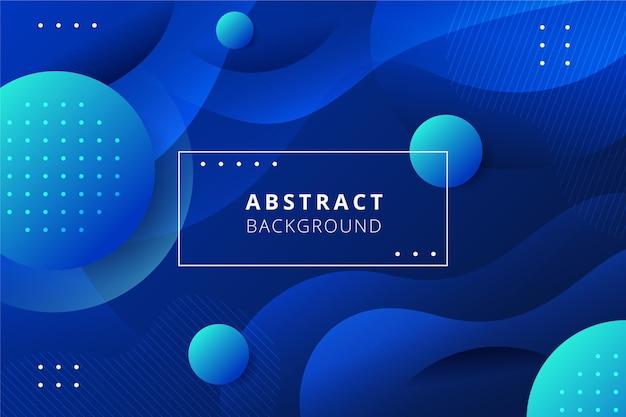 Fondo abstracto con puntos y bolas