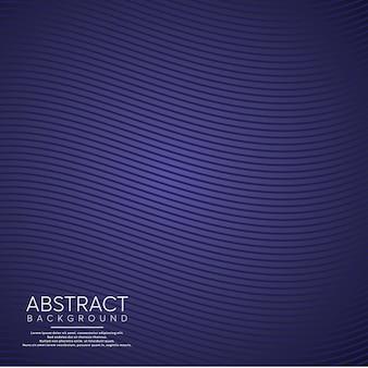 Fondo abstracto púrpura línea ondulada