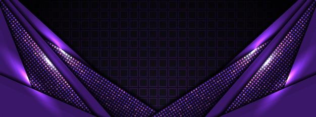 Fondo abstracto púrpura moderno tech