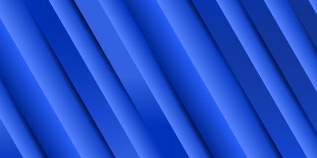 Fondo abstracto raya azul degradado