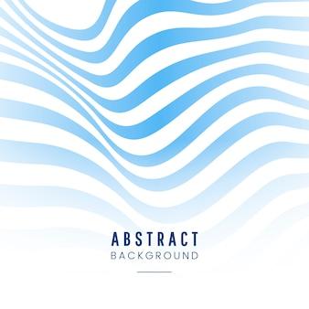 Fondo abstracto rayado azul y blanco