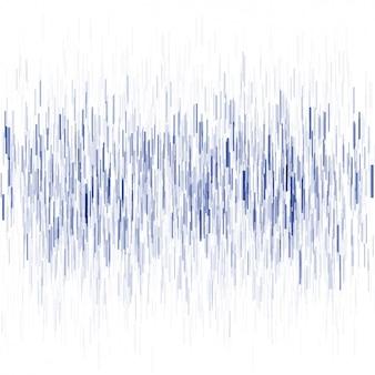 Fondo abstracto con rayas azules