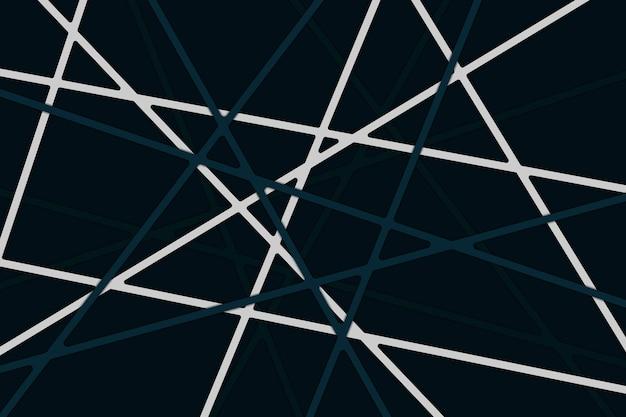 Fondo abstracto de rayas oscuras en estilo papercut