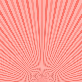 Fondo abstracto de rayos de sol. fondo de color rosa de moda
