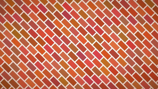 Fondo abstracto de rectángulos dispuestos diagonalmente en colores rojos