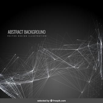 Fondo abstracto con una red