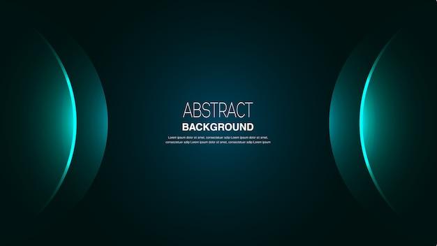 Fondo abstracto redondo