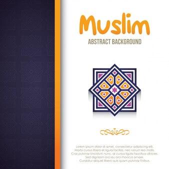 Fondo abstracto religión de diseño con adorno