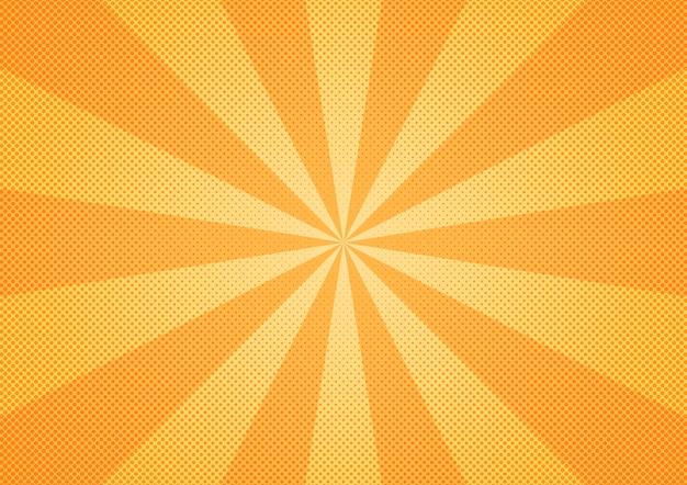 Fondo abstracto del resplandor solar