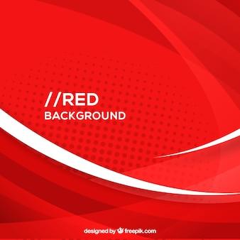 Fondo abstracto rojo