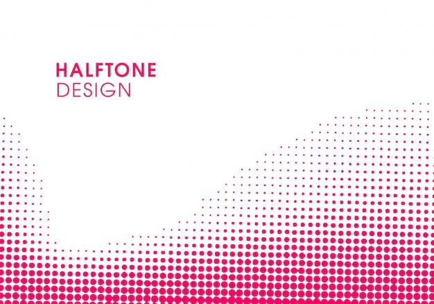 Fondo abstracto rosado moderno