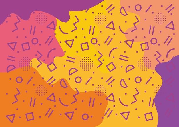 Fondo abstracto de salpicaduras de color