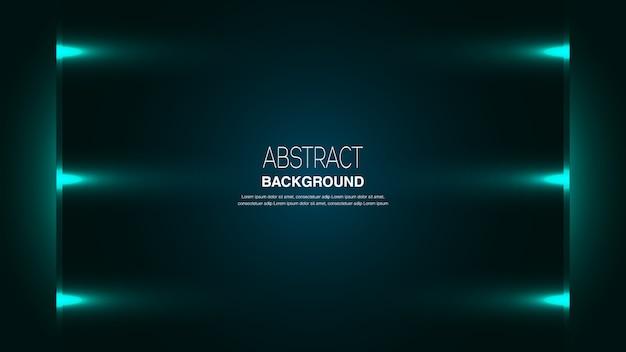 Fondo abstracto con seis luces