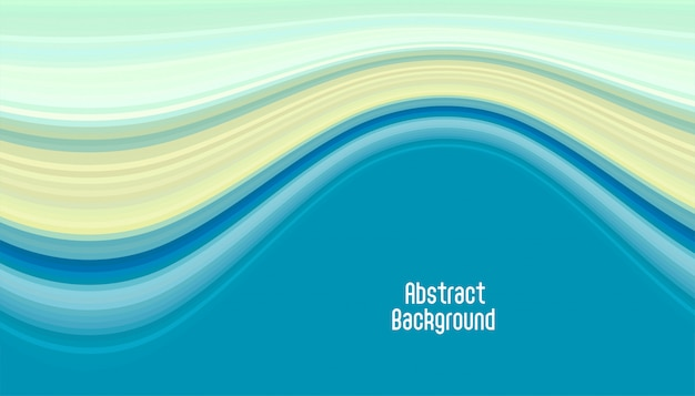 Fondo abstracto suave curva azul