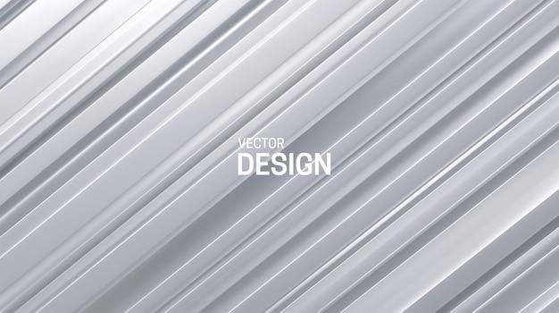 Fondo abstracto con superficie en capas blancas