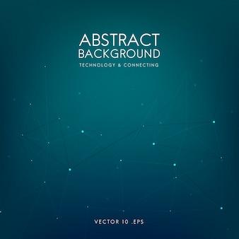 Fondo abstracto para tecnología en azul.