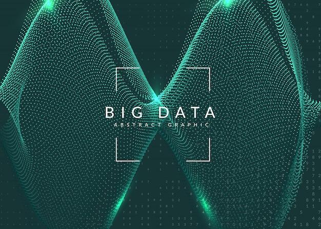 Fondo abstracto de tecnología digital. inteligencia artificial