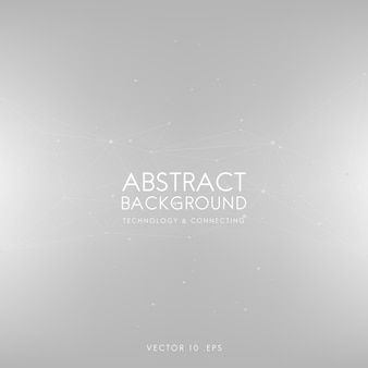 Fondo abstracto para tecnología en gris claro.