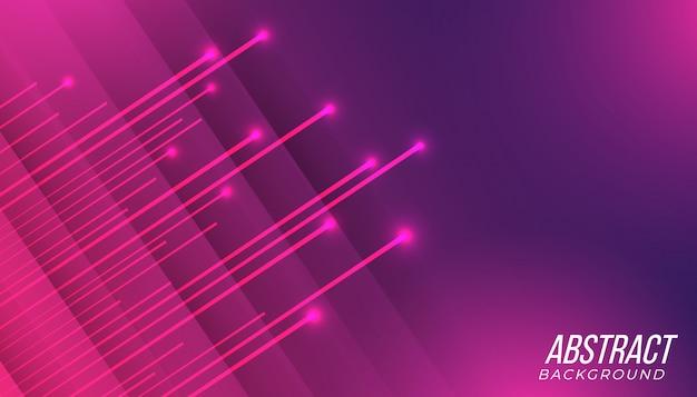 Fondo abstracto de tecnología de juego degradado púrpura rosa futurista moderno con rayos brillantes