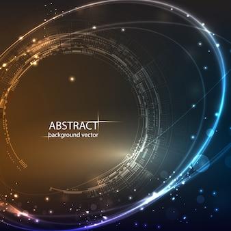 Fondo abstracto de la tecnología.